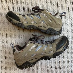 Merrell hiking shoes with Vibram sole